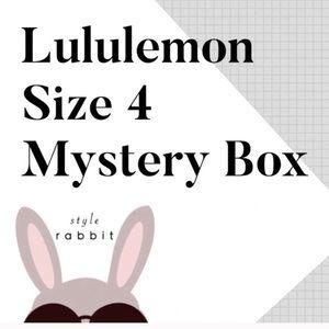 Lululemon Size 4 Mystery Box Bundle